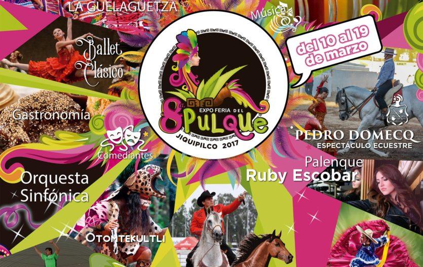 Conoce el Programa completo de la Expo Feria del Pulque Jiquipilco