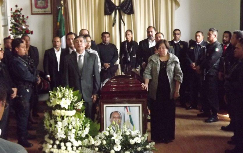 Dan el último adiós y hasta siempre, a Fernando Álvaro, alcalde de Tianguistenco