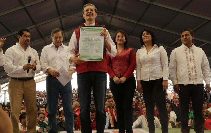 Alfredo del Mazo es ratificado, es el candidato del PRI