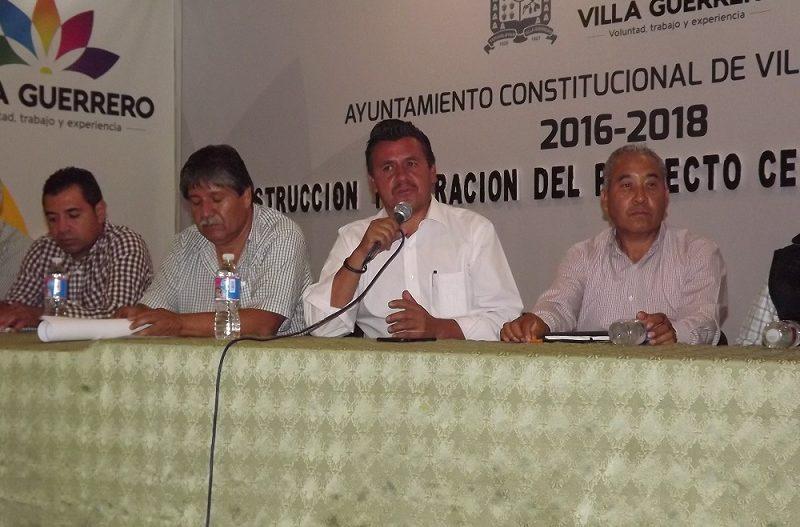 Central de Abasto Villa Guerrero, podrá brindar espacios a productores y comercializadores de toda la región