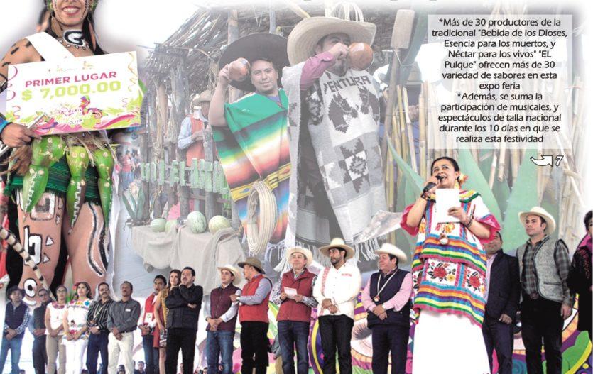 """Inició """"Octava edición de la Expo Feria del Pulque Jiquipilco 2017"""""""