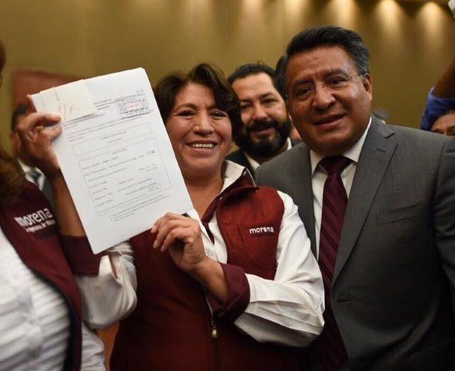 Delfina Gómez convoca a candidatos de PRI y PAN, hacer campaña sin helicópteros ni camionetas blindadas