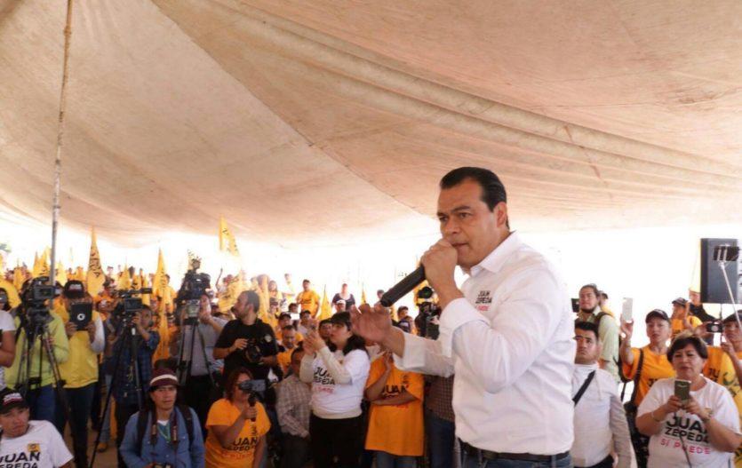 Combate frontal a la delincuencia para devolver paz y tranquilidad a Ecatepec: Juan Zepeda