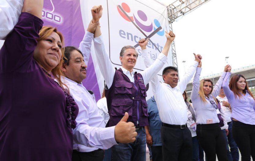 Haremos del Estado de México un lugar seguro para todas las familias: Del Mazo