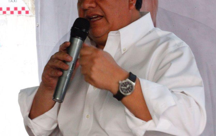 Oscar González Yañez, candidato a diputado federal en listado de Morena