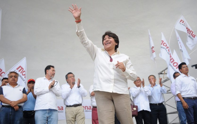 Delfina Gómez llama a votar y vigilar la elección