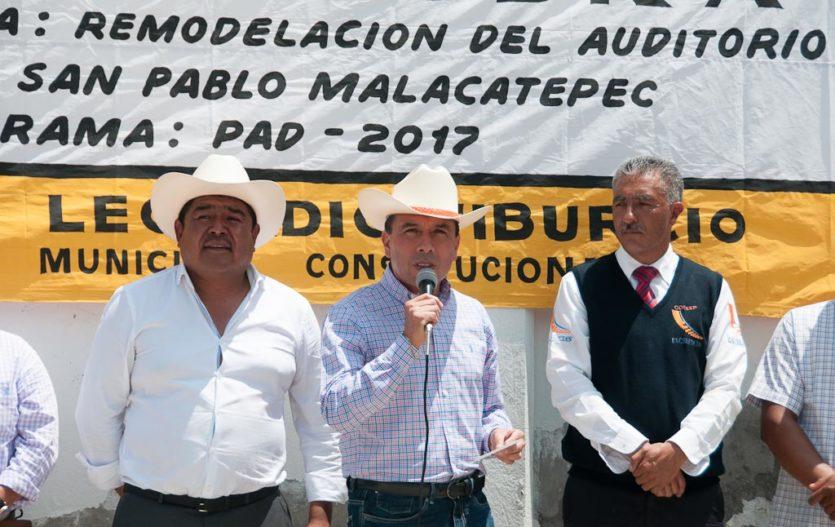 Arturo y Noé, concretan más obras para Villa de Allende
