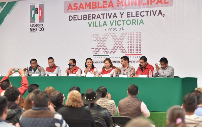 Eligen a delegados municipales que participaran en asamblea del PRI