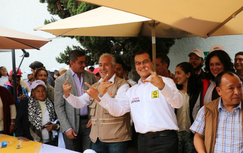 Diputado del PT  se suma con Juan Zepeda