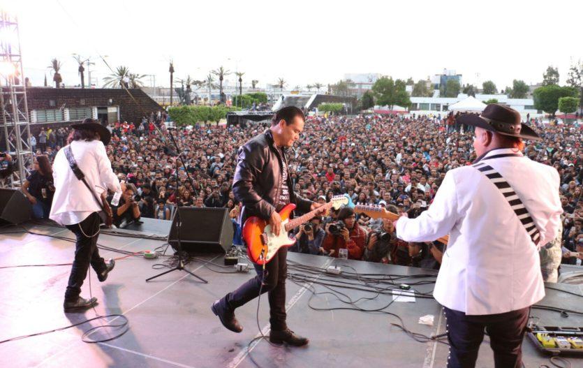 A ritmo de rock, Juan Zepeda cierra su campaña rumbo a la gubernatura