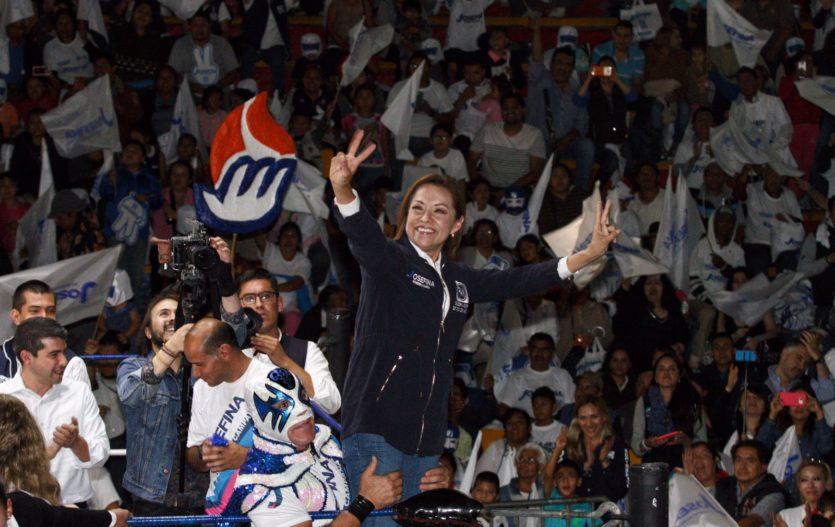 """Josefina pide a mexiquenses probar al PAN, """"sabemos gobernar"""" aseguró"""