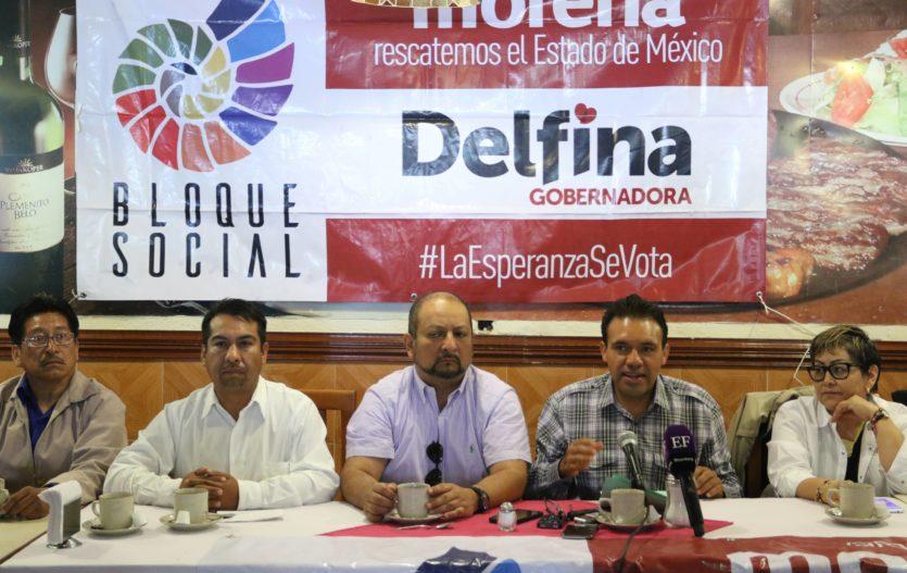 Renuncian 4 mil militantes del PRD y se suman a Morena: Max Correa