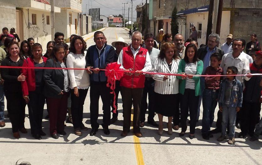 Inauguran nueva vía de comunicación en Atizapán Santa Cruz