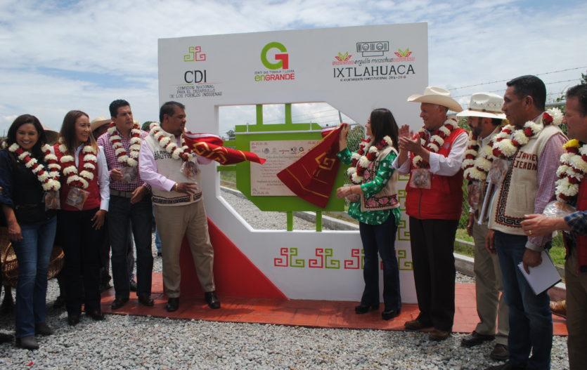 Consolidan el desarrollo de comunidades Mazahuas de Ixtlahuaca