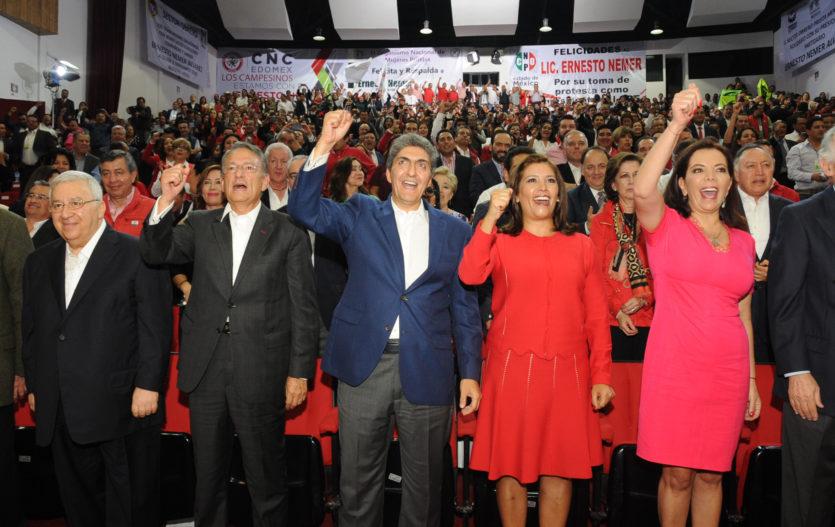 Priismo mexiquense da espaldarazo a su nueva dirigencia rumbo al 2018