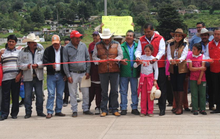 Juan Carlos Bautista suma 4 compromisos más cumplidos