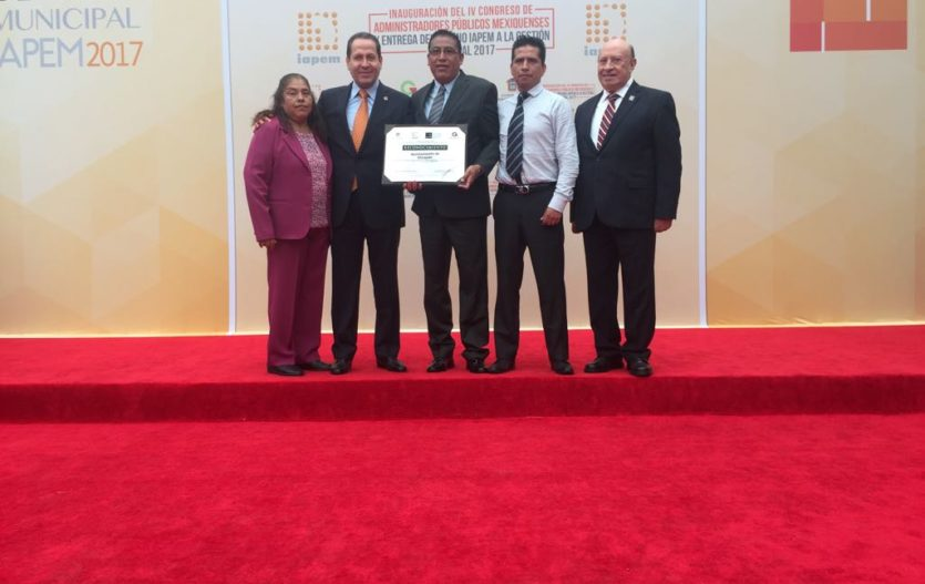 """Atizapán recibe reconocimiento especial """"Gestión Verde"""""""