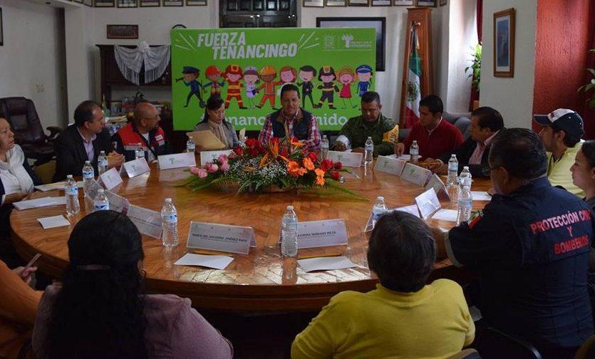 Instalan Consejo de Transparenciapara la entrega de víveres a damnificadosde Tenancingo
