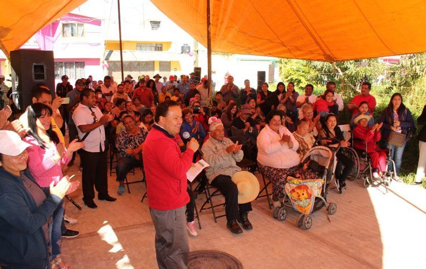 Gobierno de Lerma inaugura pavimentación de vías de comunicación; suma más de 700 las obras edificadas