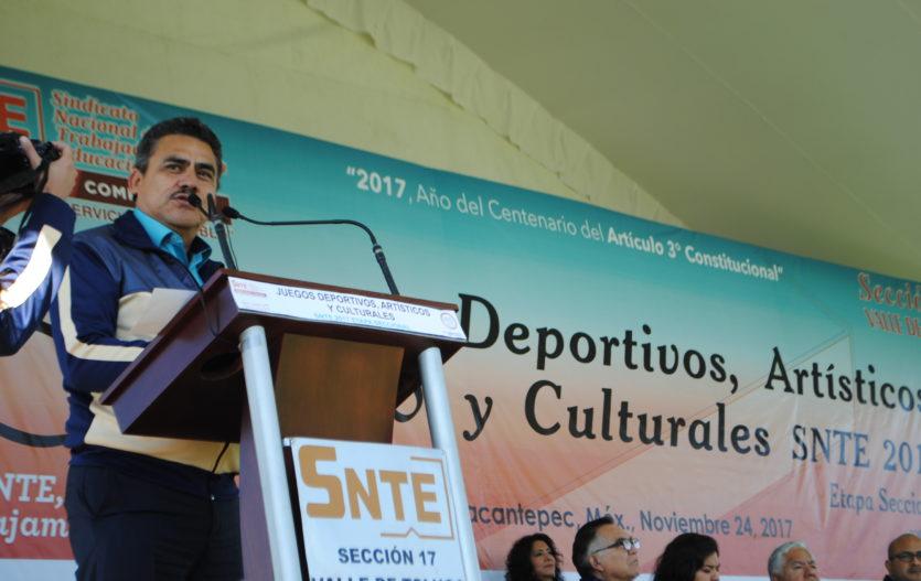 SNTE 17, promotor del deporte y el arte 2017