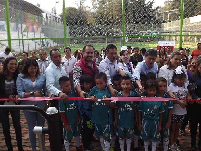 Mejoran espacios deportivos y de recreación en Tenancingo