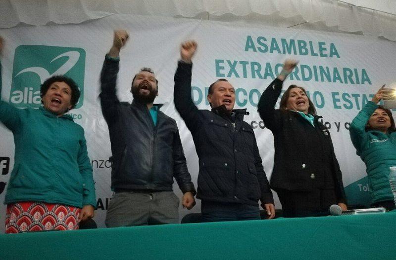 Nueva Alianza va sin el PRI en los 125 municipios del Edomex