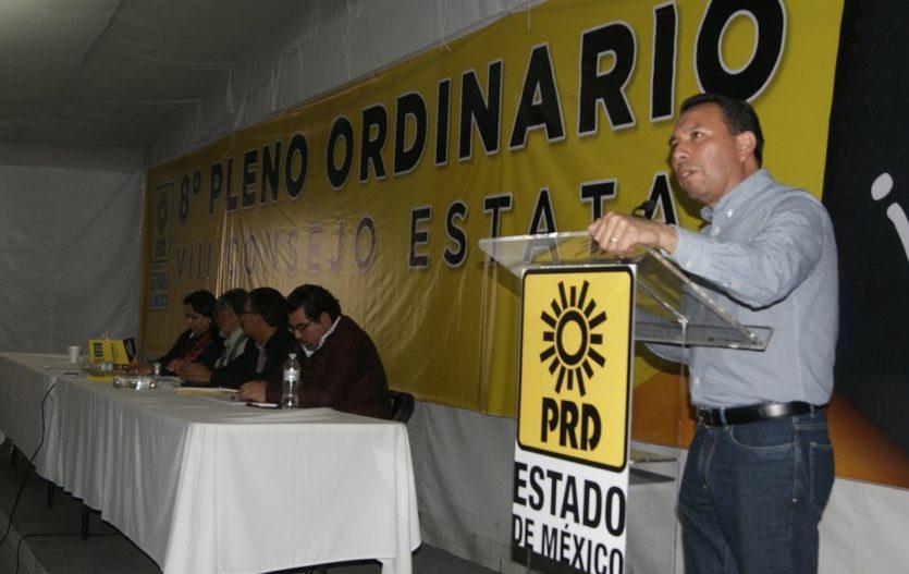 Arturo Piña convoca a la unidad del PRD