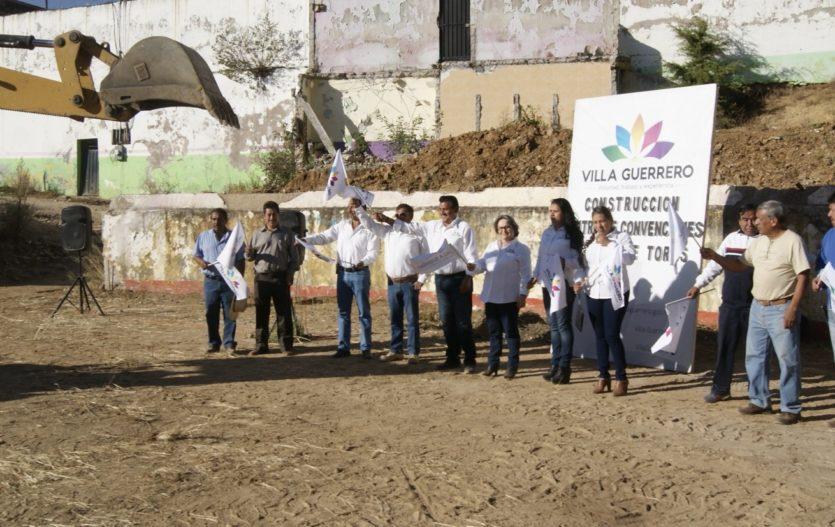 Reinician trabajos en Plaza de Toros Villa Guerrero
