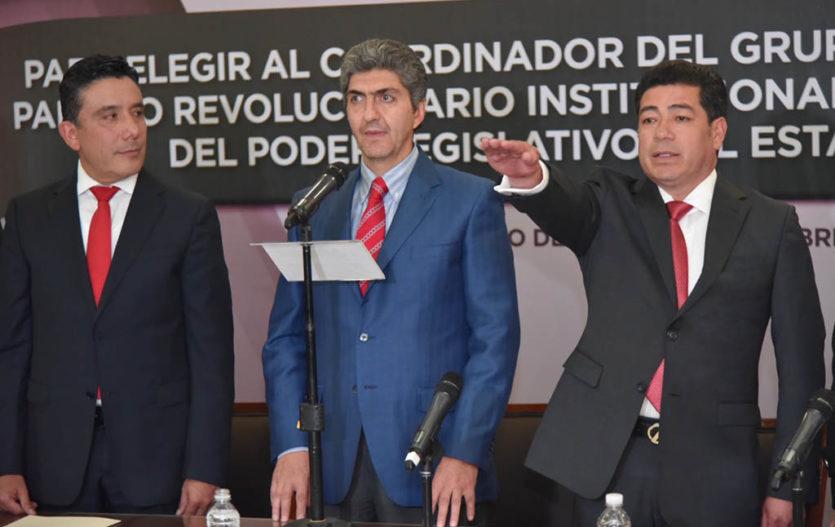 Miguel Sámano es electo coordinador de diputados del PRI