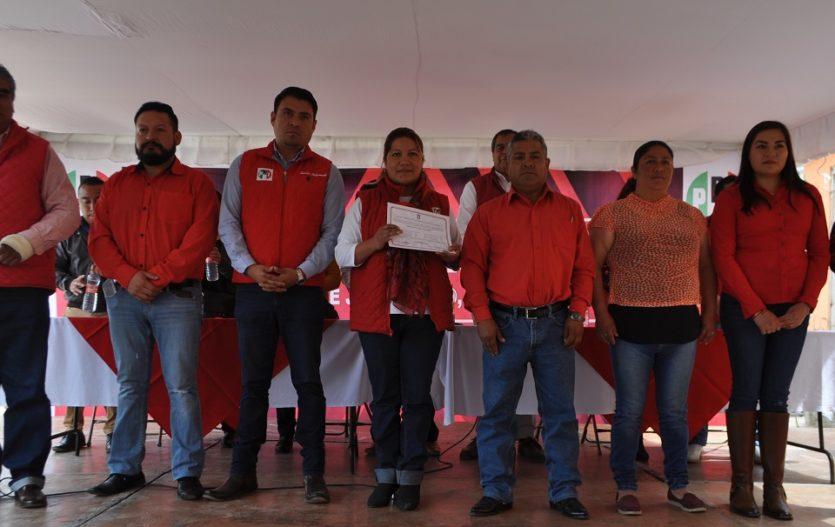 Aprueban precandidatos del PRI en Joquicingo; Alma Pallares va por elección consecutiva