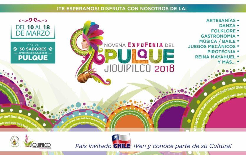 !Preparate! Ya viene la 9ª Expoferia del Pulque en Jiquipilco