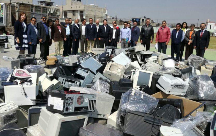 """Inicia """"Reciclatón de material eléctrico y electrónico"""" en Edomex"""