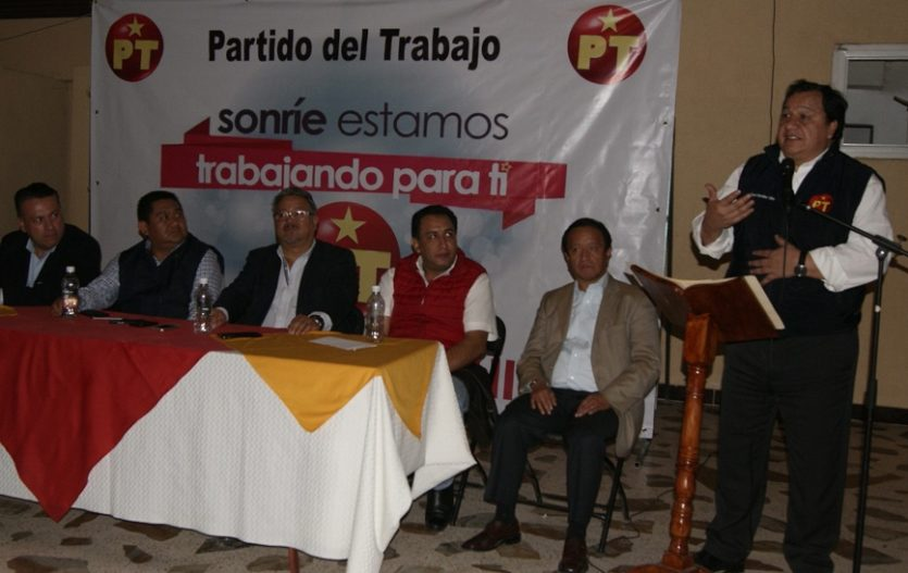 PT puede ganar sin Morena en Metepec, Tenango, Ecatepec, y muchos más municipios: Oscar González