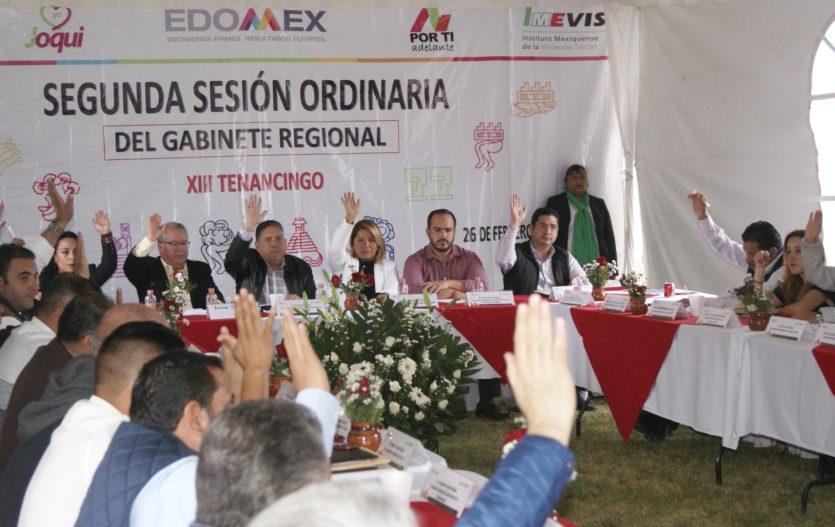 En Joquicingo acuerdan acciones para atender necesidades de municipios de la región XIII