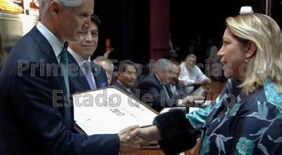 Ganadores de la presea Estado de México 2018