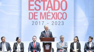 """Alfredo del Mazo presentó """"Plan de Desarrollo del Estado de México 2017-2023"""""""