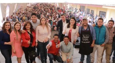 ¡Todo un Éxito! la Feria del Taco en Zinacantepec