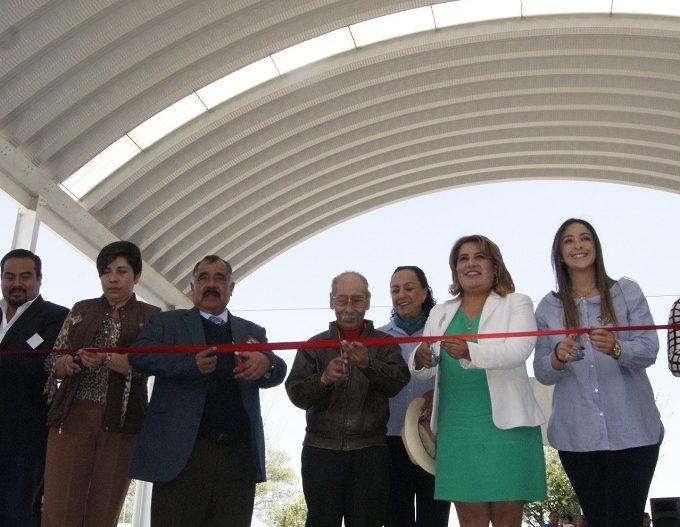 Estrenan infraestructura educativa en Mexicaltzingo