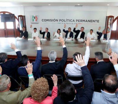Aprueban candidatos del PRI al senado y diputados; aquí el listado