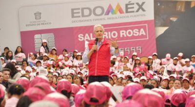 Salario Rosa permite más posibilidades de superación y crecimiento: Del Mazo