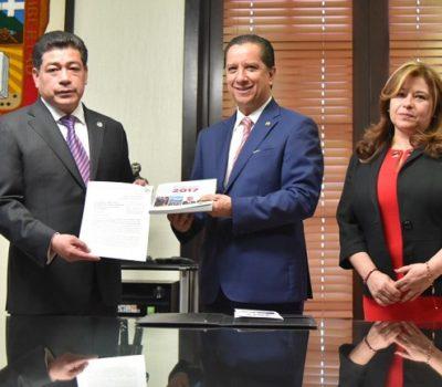 Entregan informe de CODHEM a legislatura del Edomex