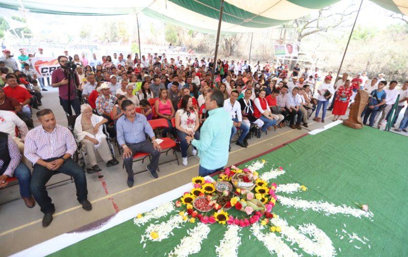 Cesar Camacho se pronuncia por distribución justa de recursos para municipios