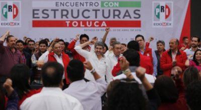 Ernesto Nemer confía en que ganarán la capital mexiquense