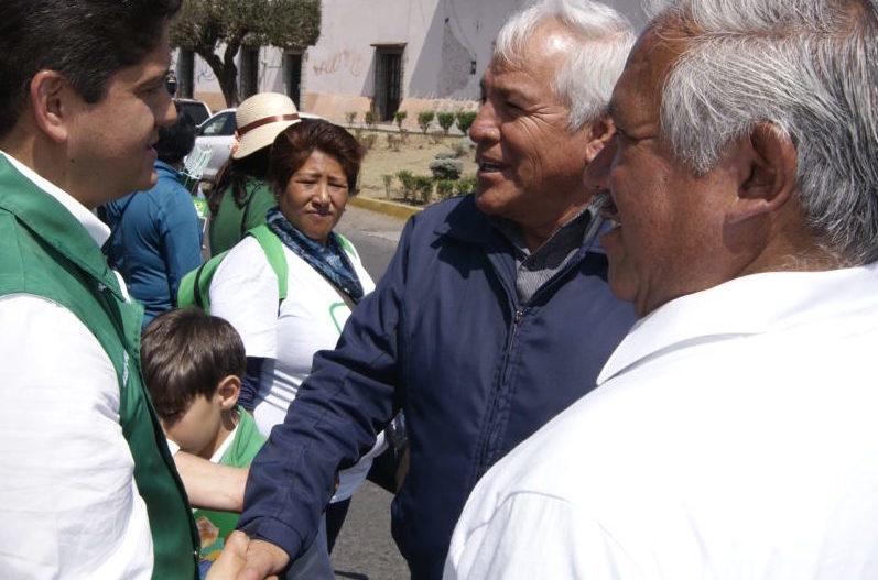 Luis Alberto Carballo asume candidatura del Verde, Nueva Alianza, y PRI por diputación federal del distrito 23