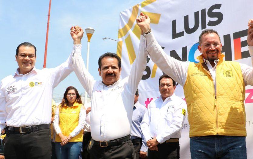 Luis Sánchez asegura que Neza seguirá siendo perredista