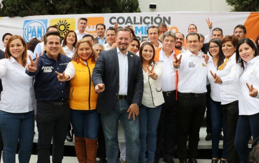 Presenta PAN, PRD y MC a sus candidatos a diputados federales del Estado de México; aquí el listado