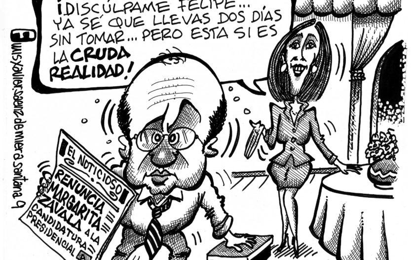 La caricatura presidencial